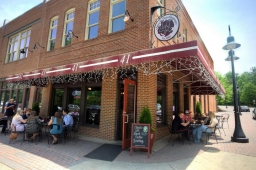 Area 41 Pizza Company offers signature brick oven pizzas and premium beer selection.