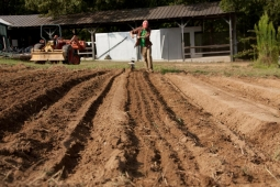 Rows of new crops will soon sprout on Mt Laurel's 25-acre organic farm.